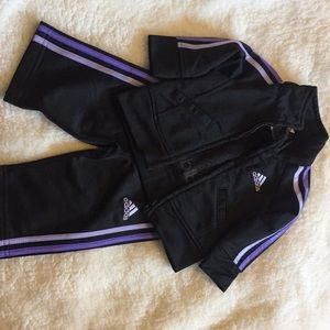 Adidas Track Suit - size 3mo